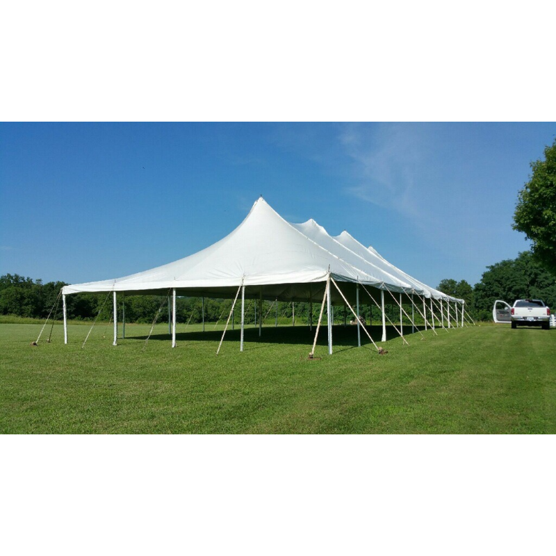 Tent 40 x 100 White Eureka Evolution Pole  sc 1 st  Point of Rental Essentials & Purdonu0027s Rental Sales - Home